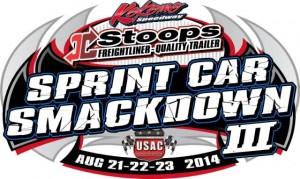 2014 Kokomo Sprint Car Smack Down Logo