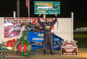 Bryan Clauson Jennifer Peterson photo