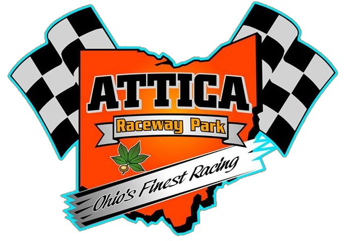2014 Attica Raceway Park Logo