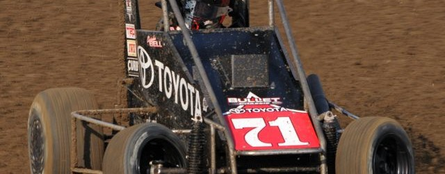 Rico Abreu and Christopher Bell won features Sunday night at Calistoga Speedway with Abreu taking the USAC/CRA win and Bell winning the USAC Western Midget feature.