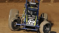 Images from the AMSOIL USAC National Sprint Car Series event at Eldora Speedway...