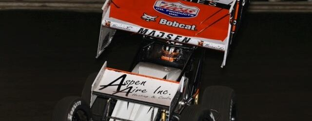 "n what many feel is the most competitive weekly field Knoxville Raceway has ever assembled in the 410 class, Ian Madsen struck the first blow by winning the Season Opener at the ""Sprint Car Capital of the World"" on Saturday night."