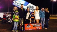 Rutherford, CA's Rico Abreu reminded everyone on Saturday night why he is arguably the hottest Sprint Car driver around at the moment, as he romped to his second consecutive win in the prestigious Dave Bradway Jr. Memorial at Chico's Silver Dollar Speedway.