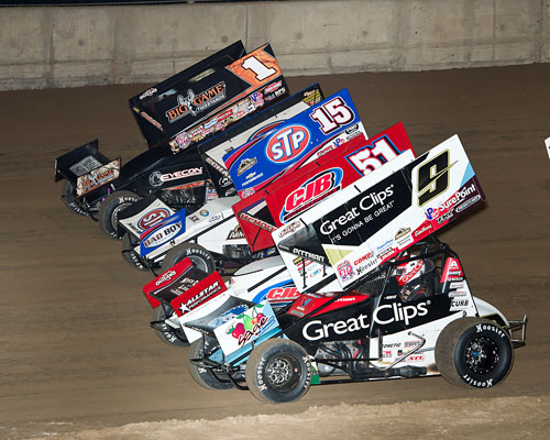World Of Outlaws Stp Sprint Cars Return To I 80 Lakeside