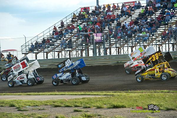 Waynesfield Raceway Park. - Mike Campbell Photo