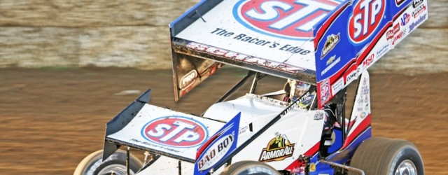 Extends his World of Outlaws STP Sprint Car Series win streak to six in a row...