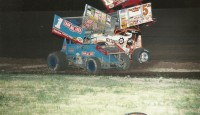 Recounting one of the most odd events we ever witnessed at I-96 Speedway with the World of Outlaws...
