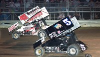 Images from Ohio Sprint Speedweek at Waynesfield Raceway Park...