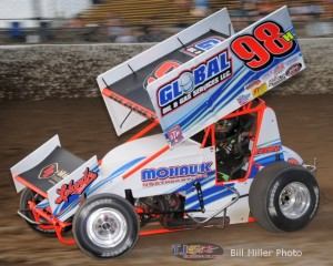 Dave Blaney. - Bill Miller Photo
