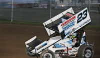 The Port-a-Cool U.S. Dirt Track National Championship added a new name to the list of winners on Saturday night as Washington's Seth Bergman topped the field for his second Lucas Oil ASCS National Tour win of the 2014 season.