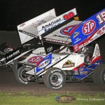 Kerry Madsen (29) and Donny Schatz (15) (Serena Dalhamer photo)