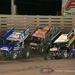 Cole Wood (17W), Terry McCarl (24), Lynton Jeffrey (12), and Clint Garner (40) (Serena Dalhamer photo)