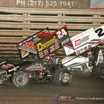 Terry McCarl (24) and Shane Stewart (2) (Serena Dalhamer photo)