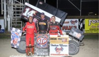 Which moment was the most memorable in Attica Raceway Park history...Mark Keegan beating Steve Kinser on Ohio Sprint Speedweek or the Ohio Sweep of the top three at Friday's World of Outlaws program?