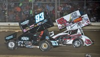 Images from the UNOH All Star Circuit of Champions event at Wayne County Speedway...