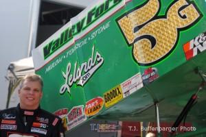 Curt Michael made his first start at Eldora Speedway on Friday. - T.J. Buffenbarger Photo