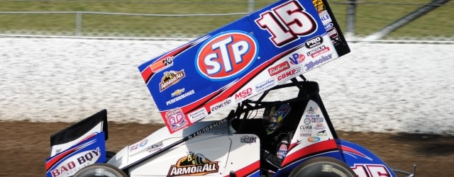 Extends World of Outlaws STP Sprint Car Series points lead to 154 over second place Daryn Pittman...