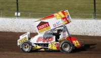 It has been a busy couple of weeks for Brian Brown and the Casey's General Stores/FVP #21 team.  After competing in the King's Royal at Eldora Speedway near Rossburg, Ohio, they scored a victory during JSTS Speedweek last Wednesday at the Sioux Speedway in Sioux Center, Iowa.