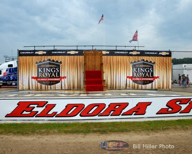 Victory lane at the 2014 Kings Royal. - Bill Miller Photo
