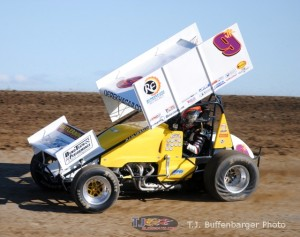Derek Hagar has been a nice addition to the sprint car scene in Ohio over the past three weeks.- T.J. Buffenbarger Photo