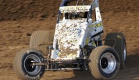 Lawrenceburg, IN — (July 26, 2014) — CJ Leary, the defending Lawrenceburg Chevrolet Sprint Car Track Champion at Lawrenceburg parked his car in victory lane for the first time this […]
