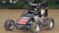 Images from the midget car program at Montpelier Motor Speedway...