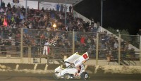 Bud Kaeding picked the perfect race to score his first win with Williams Motorsports and his first win of the 2014 season as he captured the Howard Kaeding Classic on Saturday night at the Ocean Speedway, a race that pays homage to his grandfather.