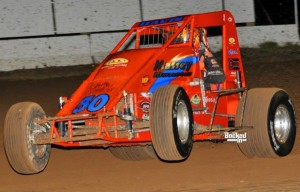"""""""Chargin"""" Charles Davis Jr. – 2nd in USAC SouthWest Point Standings. Photo by Patrick Shaw / Backed-In Photography."""