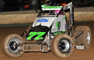 R.J. Johnson – USAC SouthWest Point Leader. Photo by Patrick Shaw / Backed-In Photography.