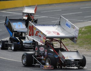 Jeff Bloom and Troy Decaire. - T.J. Buffenbarger Photo