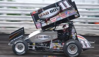 Will you still attend World of Outlaws events without Steve Kinser on the tour full time...?