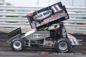 Steve Kinser. - T.J. Buffenbarger Photo