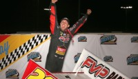 """Putting together the best week and a half of racing of his career, Brian Brown and the Casey's General Stores/FVP #21 team were awarded the prestigious """"Jesse Hockett Mr. Sprintcar"""" title for 2014."""
