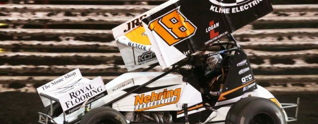 Ian Madsen won the 410 sprint car feature Sunday night at Huset's Speedway.