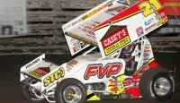 Brian Brown and the Casey's General Stores/FVP #21 are going into Season Championship night at the Knoxville Raceway Saturday with nothing to lose.