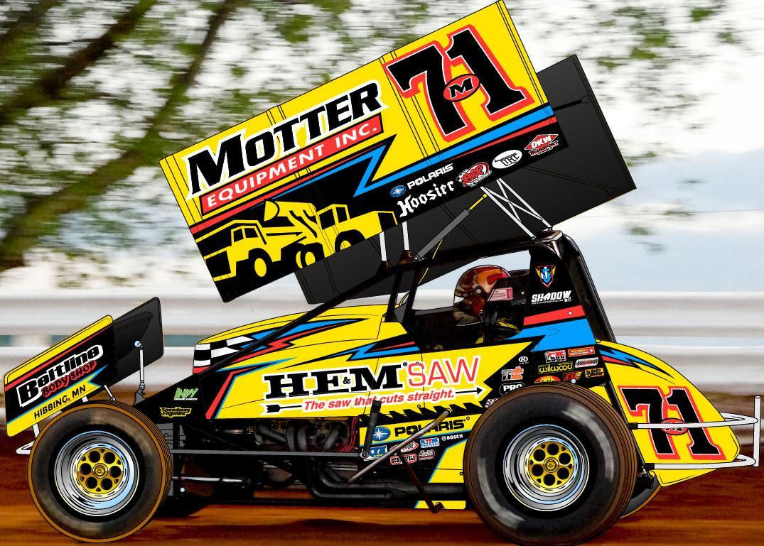 special motter 71m knoxville paint scheme showcases
