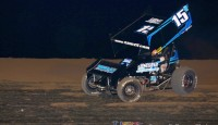 Sam Hafertepe, Jr. picked up his fourth Lucas Oil ASCS National Tour A-Feature win of the season, and sixth overall with the national arm of the American Sprint Car Series.