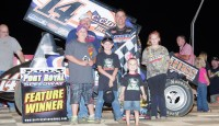 A week after earning Hard Charger at Port Royal's Dream Race, Lance Dewease returned to the Port Royal Speedway and thrilled the crowd as he picked up his fourth win of the 2014 season.
