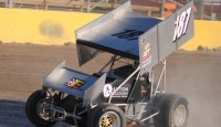 Images from the Engine Pro Sprints on Dirt presented by ARP at Berlin Raceway...