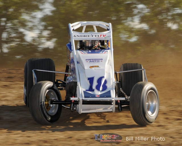Jarett Andretti. - Bill Miller Photo