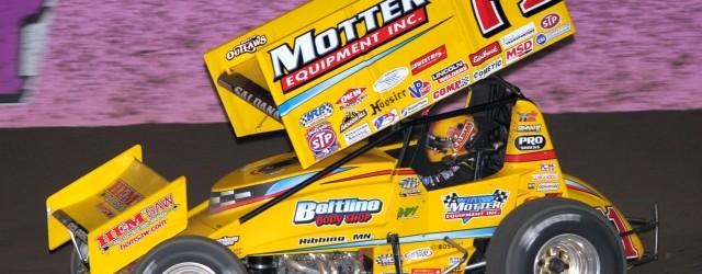 Joey Saldana won the Commonwealth Clash Saturday night at Lernerville Speedway.