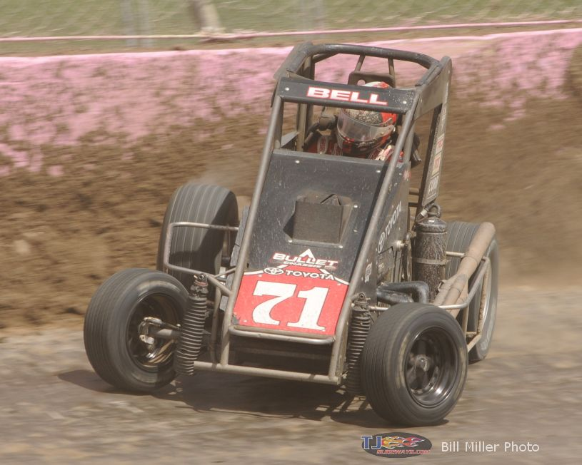 Bell Wins Powri Feature At Lincoln