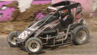 Jerrod Hull and Bryan Clauson pick up victories during the Ron Milton Race of Champions...