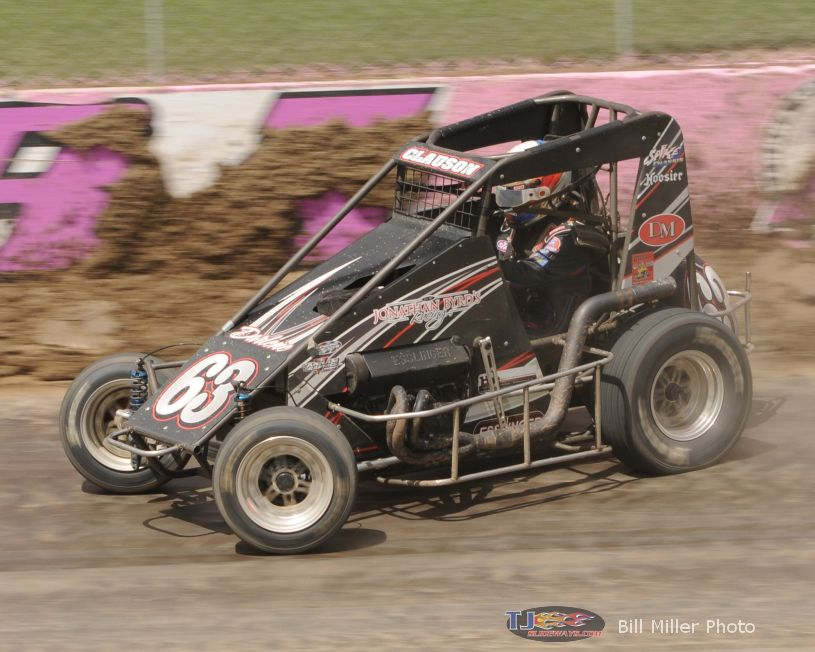 Bryan Clauson. - Bill Miller Photo