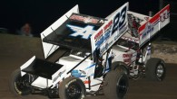Images from Saturday night of the Winter Nationals at Devil's Bowl Speedway...