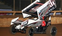 Christopher Bell had been close to victory at I-30 Speedway before, only to come up one position short.