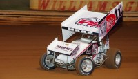 Cory Haas won the season finale 410 sprint car main as part of Fall Fest 2014 on Saturday night at Williams Grove Speedway...