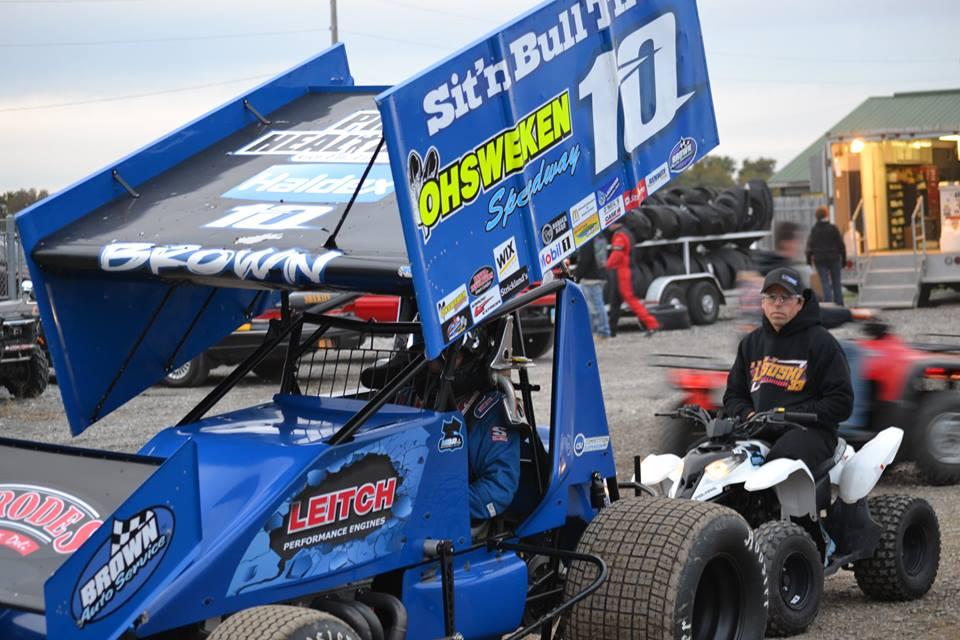 Mitch Brown. (Bob Buffenbarger Photo)