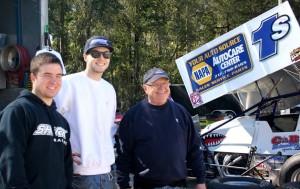 Logan Schuchart, Jacob Allen and Bobby Allen. - James Knapp Photo