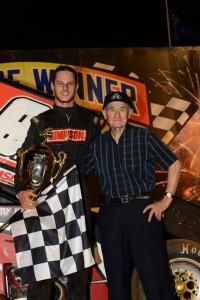 Sam Walsh and Sid Hopping. - Image courtesy of Valvoline Raceway